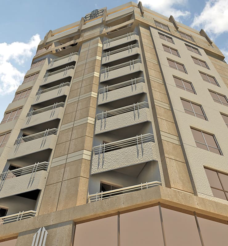Faisal Bank Tower – Cairo:  شركات تنفيذ Ereibi for Engineering Design