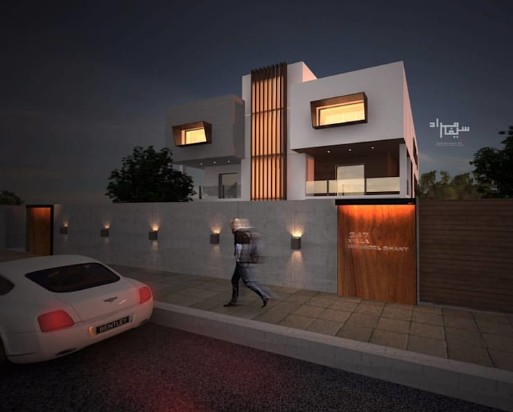 Modern Architecture:  Villas by Saif Mourad Creations