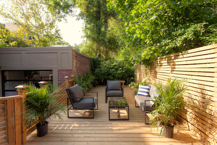 Glen Rd:  Patios & Decks by Contempo Studio