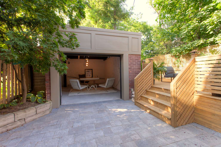 Glen Rd:  Garage/shed by Contempo Studio