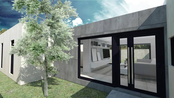 房子 by Structa Steel Framing