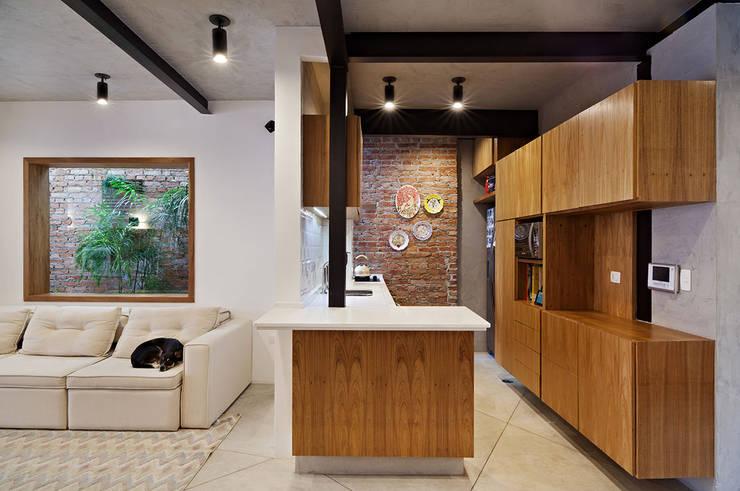 Muebles de cocinas de estilo  por ODVO Arquitetura e Urbanismo