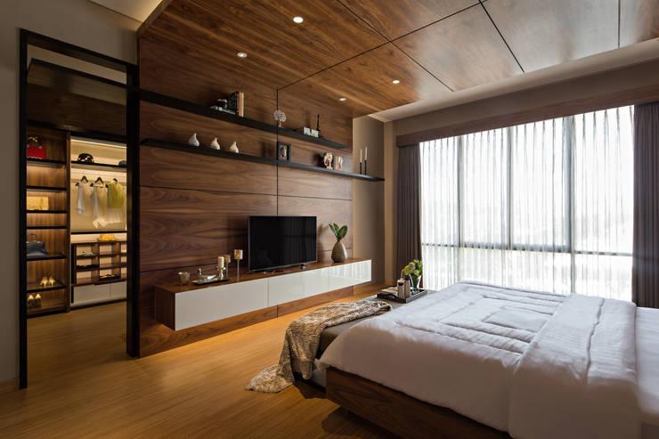Dormitorios de estilo  por INERRE Interior