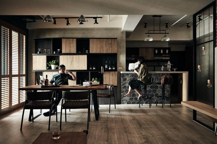 時光:  餐廳 by 羽筑空間設計