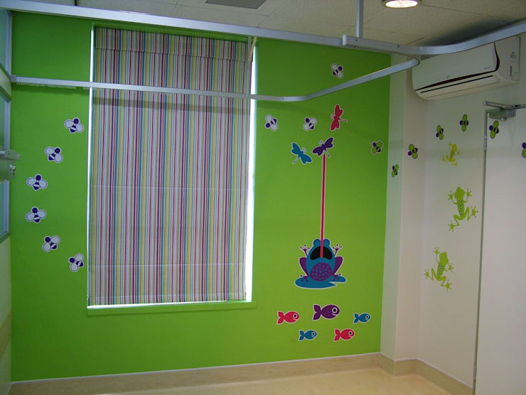 Entabeni Paeds ward, Life healthcare, Durban:  Nursery/kid's room by BHD Interiors, Modern