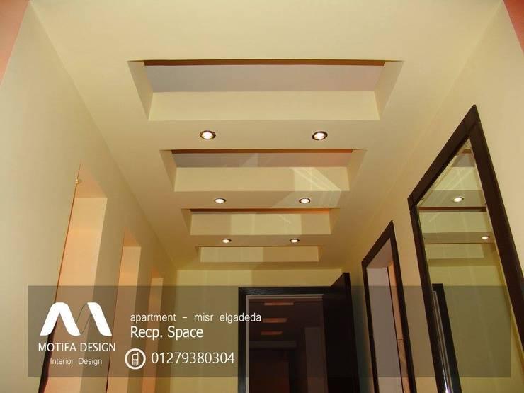 ID- apartment – misr elgadeda:  الممر والمدخل تنفيذ Motif Design