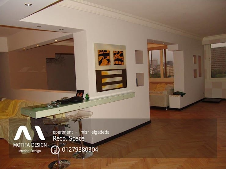 ID- apartment – misr elgadeda:  غرفة السفرة تنفيذ Motif Design