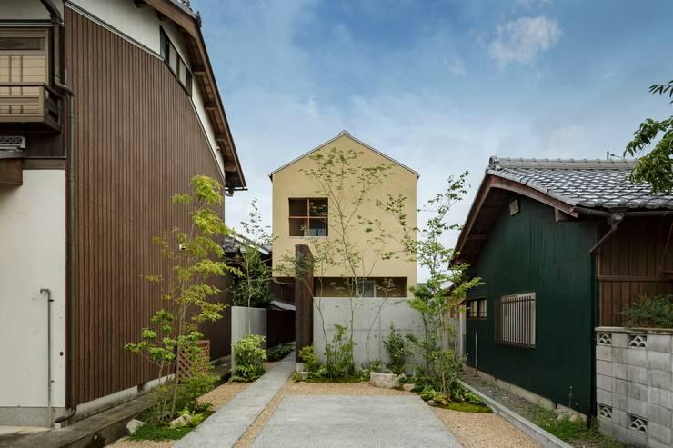 Casas  por HEARTH ARCHITECTS/ハース建築設計事務所