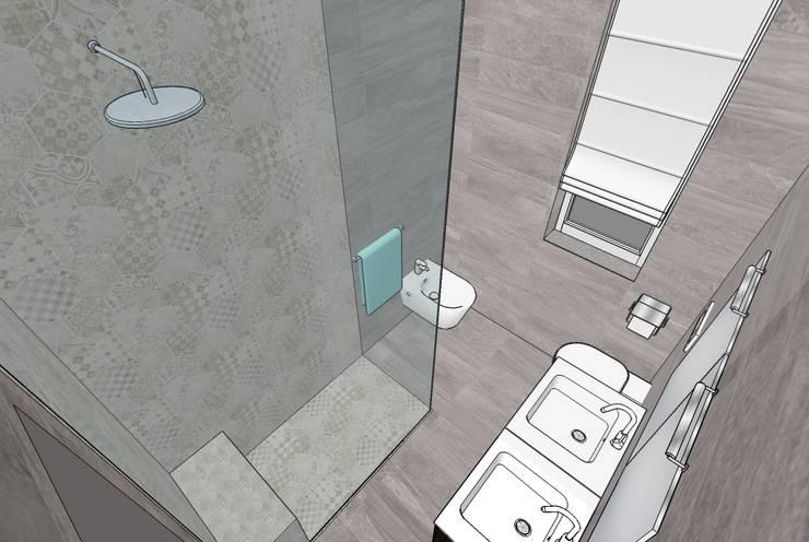 Bagno Con Doccia Walk In : Bagno con doccia filo pavimento di interno 75 homify