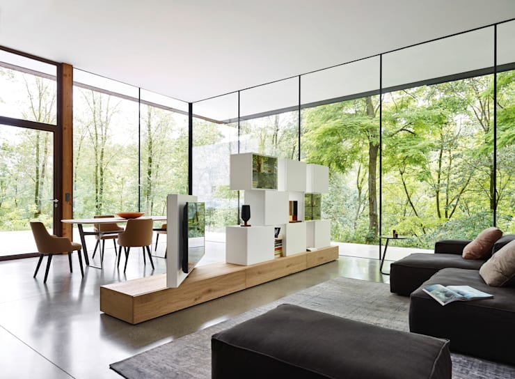 Design TV Bücherregal Raumteiler von Livarea   homify