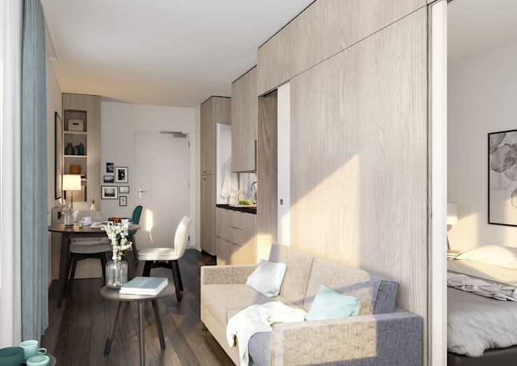Fritz Tower Mikroapartments In Berlin Mitte By Jll Residential