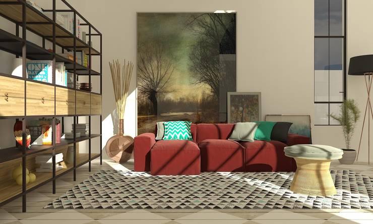 Interiors:   تنفيذ SAD: Savage Architecture and Design