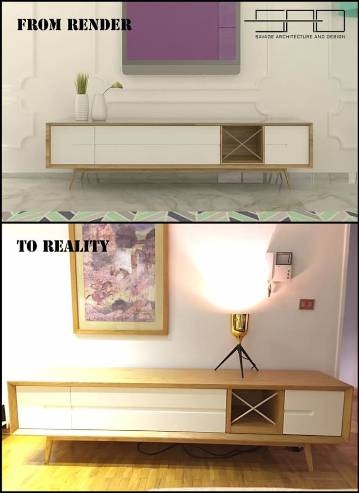 Furniture Design: حديث  تنفيذ SAD: Savage Architecture and Design, حداثي