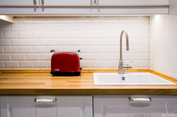 廚房 by NUVART, 隨意取材風