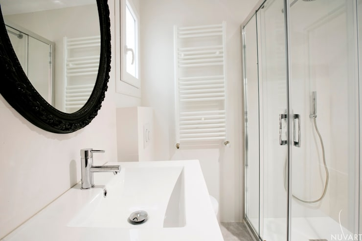 浴室 by NUVART, 隨意取材風