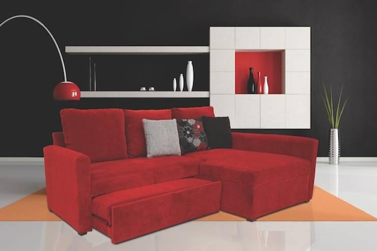 BELICE Ferrari: Salas de estilo  por SOFAMEX Online