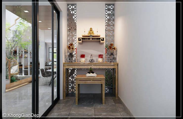 Phòng thờ :  Phòng học/Văn phòng by Công ty cổ phần đầu tư xây dựng Không Gian Đẹp