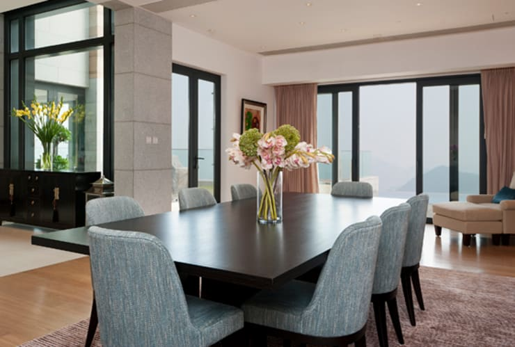 Dining Room:  Dining room by Nicole Cromwell Interior Design