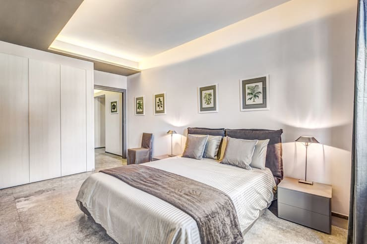 moderne Schlafzimmer von Studio Guerra Sas