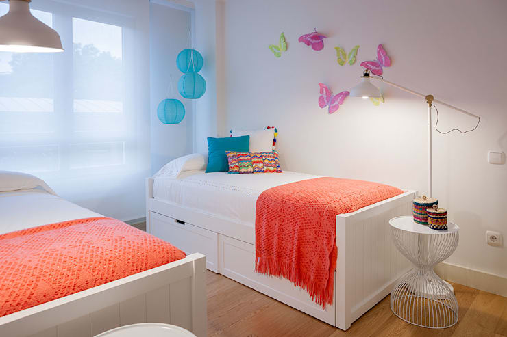 Girls Bedroom by Estibaliz Martín Interiorismo