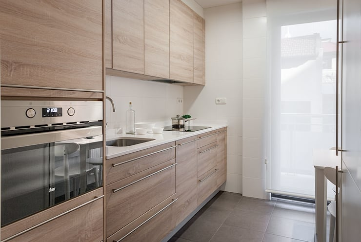 Built-in kitchens by Estibaliz Martín Interiorismo