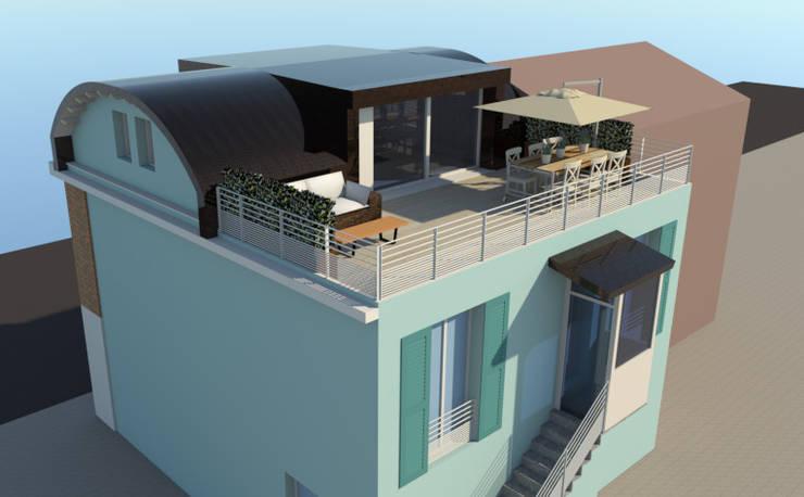 Häuser von Bartolucci Architetti, Modern