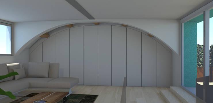 Wohnzimmer von Bartolucci Architetti, Modern