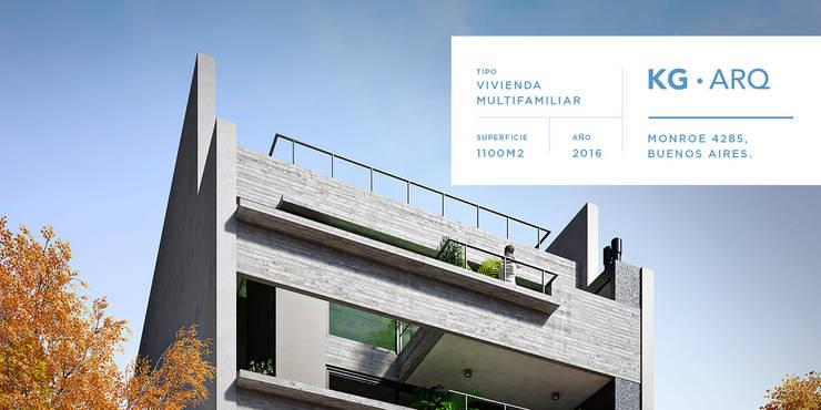 Monroe 4285, Buenos Aires. Alan Griscan – Nicolas kitay – Ariel Kitay:  de estilo  por Kgarquitectura