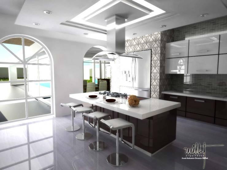 Cocina: Cocinas de estilo ecléctico por gciEntorno