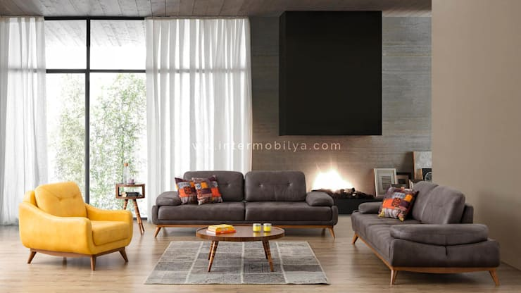 modern Living room by İnter Mobilya