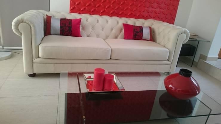 Interior Design: Livings de estilo  por Decotela