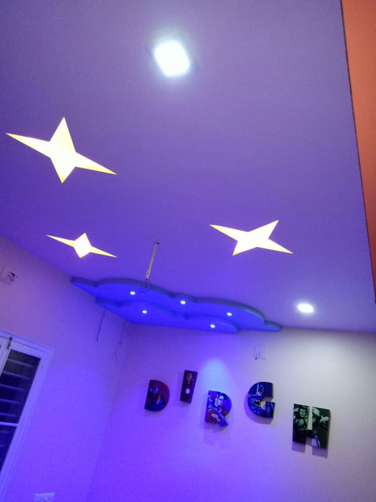 Kids Room at Laksh Icon Anand:  Bedroom by AOM Interior,Modern