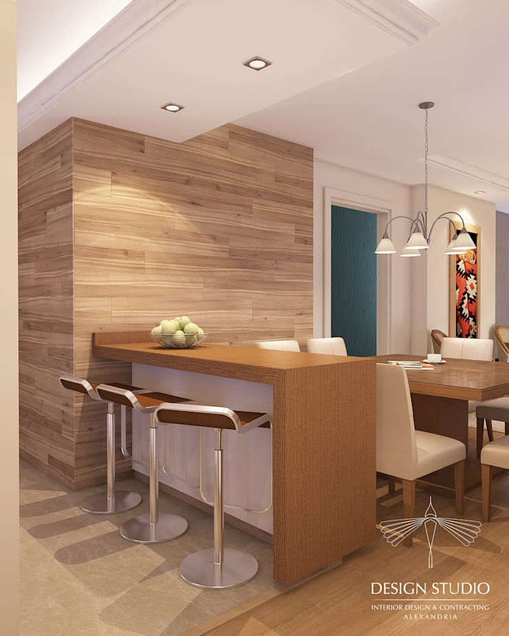 Dining room by Design.Studio, Modern