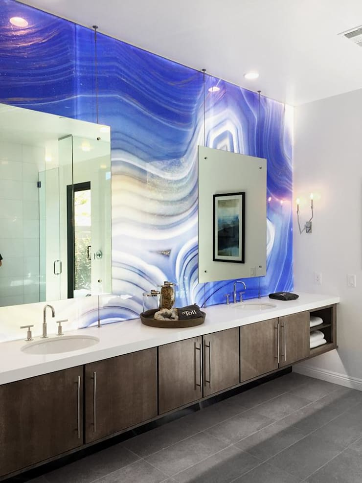 Alex Turco Art Designer:  Bathroom by S. T. Unicom Pvt. Ltd. ,