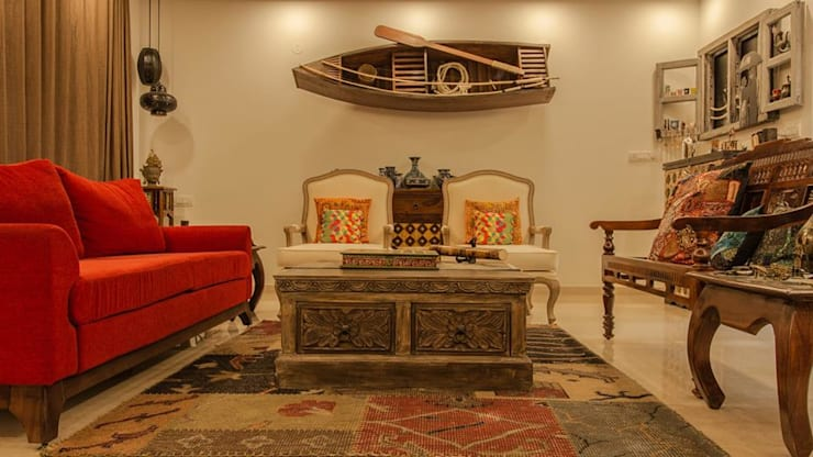 RESIDENCE:  Living room by Rubenius