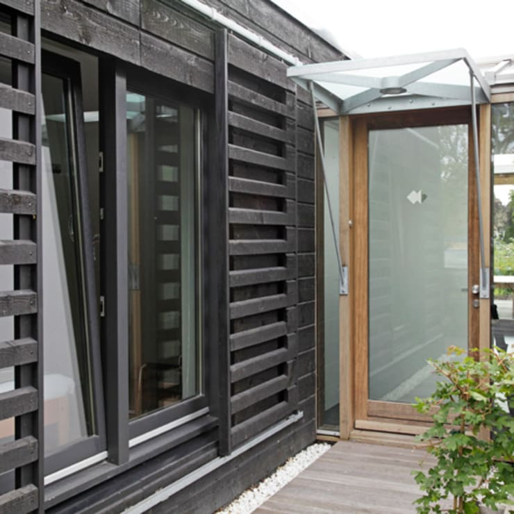 Houses by Archstudio Architecten | Villa's en interieur, Modern Wood Wood effect