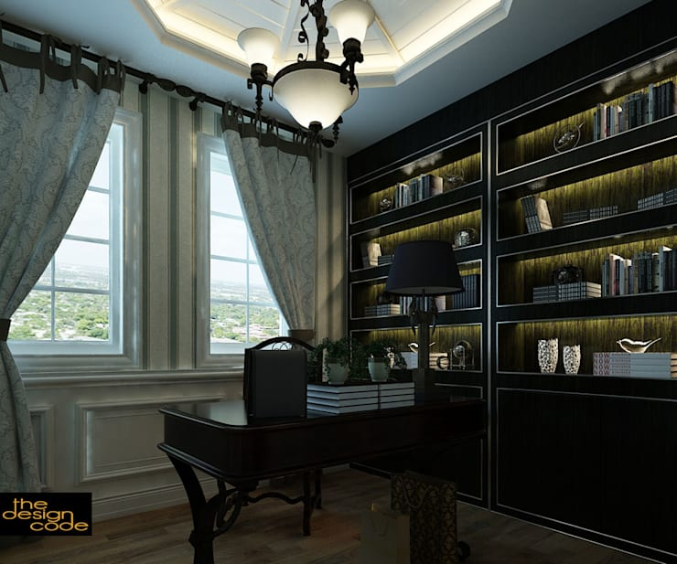 classic Study/office by The Design Code