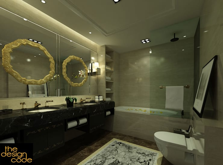 classic Bathroom by The Design Code