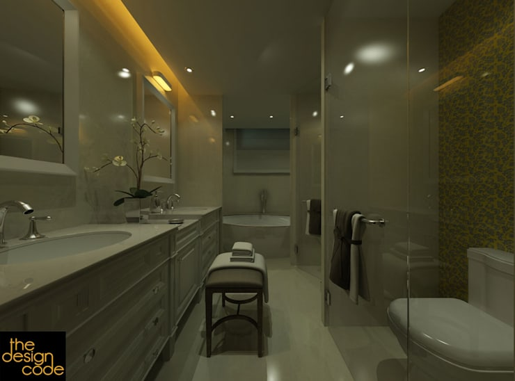 Bathroom by The Design Code
