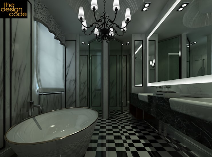 :  Bathroom by The Design Code
