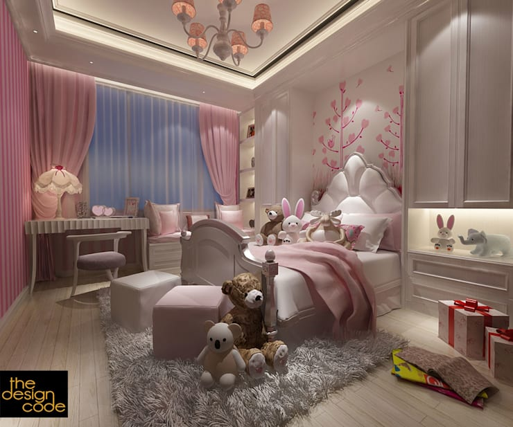 :  Bedroom by The Design Code