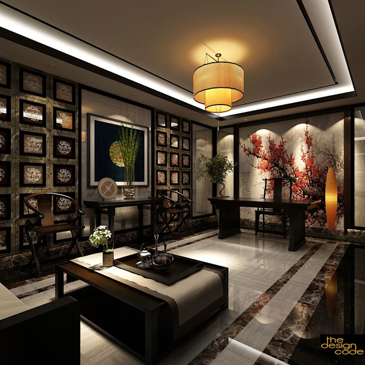 : classic Living room by The Design Code