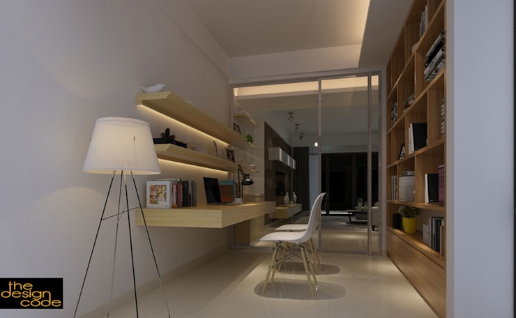 :  Dining room by The Design Code