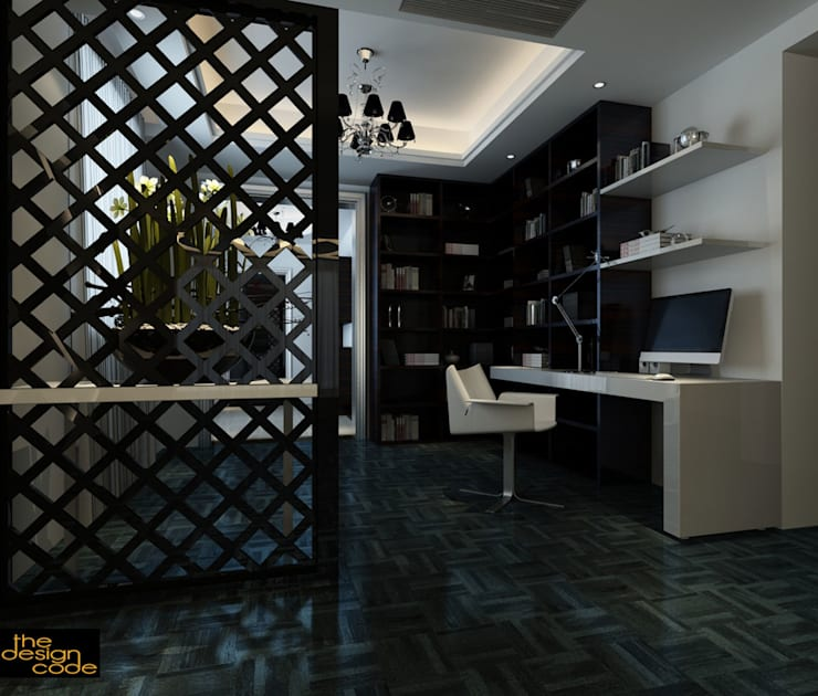 :  Living room by The Design Code
