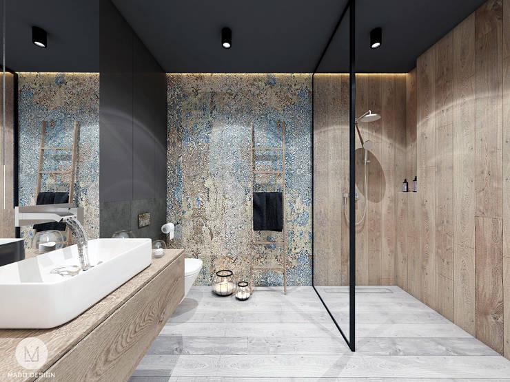 Ванные комнаты в . Автор – MADO DESIGN