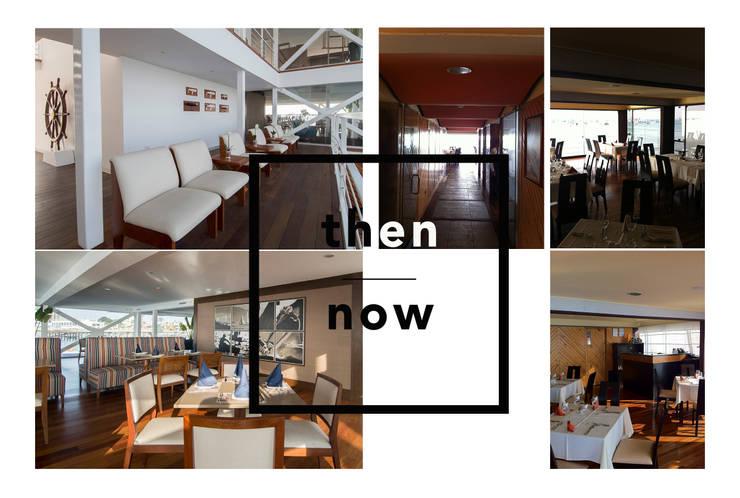 Antes y después / Then & now: Yates y jets de estilo moderno por Lores STUDIO. arquitectos