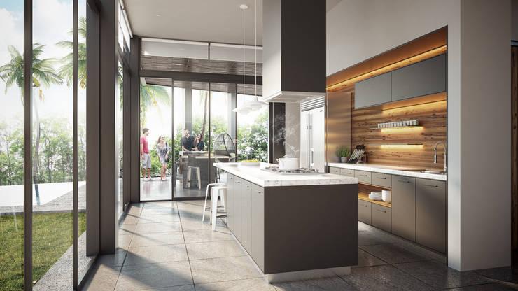 Cocina: Cocinas de estilo minimalista por DELTA