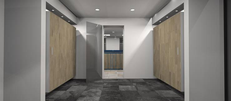 Wachtruimte:  Kantoor- & winkelruimten door AP-Interieurarchitect