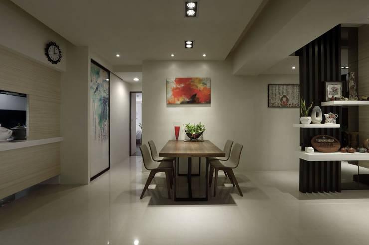 輕拂禪風意境:  餐廳 by 楊允幀空間設計