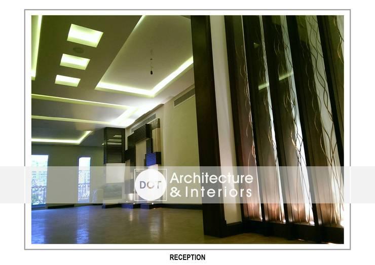 الممر والمدخل تنفيذ DOT Architecture and Interior